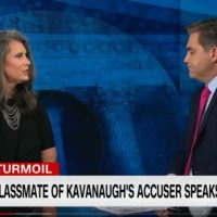 Oops! CNN's Jim Acosta Brings on Christine Ford's Classmate Who Says Girls Were Being Abused… But Not By Kavanaugh (VIDEO)