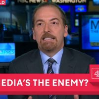 How Stupid Does Chuck Todd Think Americans Are?