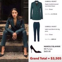 Socialist Socialite? Ocasio-Cortez Sports $3500 Outfit While Posing With Construction Workers