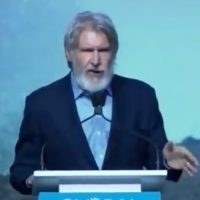 Harrison Ford, owner of 'fleet of aircraft', growls about 'climate change' deniers: 'We know who they are!'