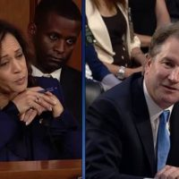 During hearing on 'threats to the homeland,' Kamala Harris demands answers about — Kavanaugh?