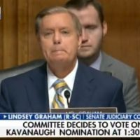 The new, improved Lindsey Graham, as seen on TV!