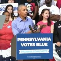 VIDEO: Obama, Hillary fight 'fear-mongering' — by fear-mongering