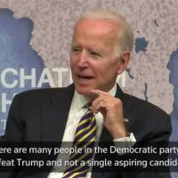 BIDEN 2020: Not running 'at this point'