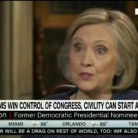 Hillary Clinton Cheers Mob Attacks on Republicans: 'You cannot be civil with a political party that wants to destroy what you stand for'