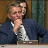 "RINO JEFF FLAKE Claims Kavanaugh ""Sharp and Partisan"" – 'Can't Have That on Court'"