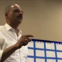 "ERIC HOLDER: When Republicans Go Low, 'We Kick Them' …Crowd Chants, ""Fight! Fight! Fight!"" (VIDEO)"