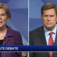 WATCH-> Elizabeth 'Pocahontas' Warren Stunned When She Learns of Ethics Complaint During LIVE DEBATE (VIDEO)