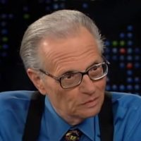 Larry King Blasts Trump Obsessed Cable News, Calls Out CNN As Liberal (AUDIO)