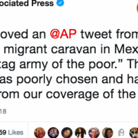 AP Deletes 'Offensive' Tweet to Please Leftists, Gets Bashed By Leftists Anyway