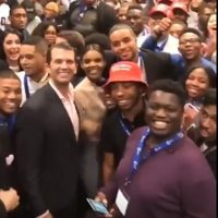 Donald Trump Jr. Rallies Enthusiastic Crowd At Young Black Conservatives Summit (VIDEO)