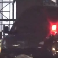 OOPS! Hillary Clinton's Van Crashes As It Arrives At Campaign Event For Bob Menendez (VIDEO)