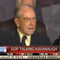 GRASSLEY ERUPTS! — GOES OFF on Far Left Media Hacks for Bias Against Brett Kavanaugh (VIDEO)