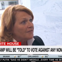 Senator Heitkamp Had the Dumbest Possible Excuse for Voting Against Kavanaugh