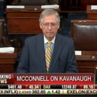 BREAKING: McConnell Files Cloture to End Debate on Kavanaugh Nomination – Sets Up Saturday Confirmation Vote