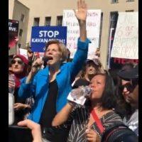 "Give It a Rest, Pocahontas=> Elizabeth Warren: Judge Kavanaugh Is a ""Hitman"" who Wants to ""Dismantle Our Civil Rights"""