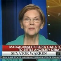 Hah! Pocahontas Warren Releases Her Private DNA Analysis – Claims She Is Around 1/512th Native American