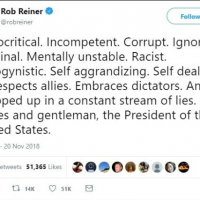 Rob Reiner Melts Down in Latest Unhinged Anti-Trump Diatribe