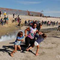 Teargassed Caravan Migrant Mother Is Taking Her Five Kids to Reunite With Their Father in US