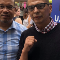 EXCLUSIVE: Keith Ellison Pictured With Portland ANTIFA Leader At Minnesota State Fair