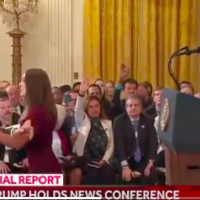 PRESS SEC: CNN 'Disgusting,' Acosta Suspended Until Further Notice