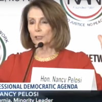 "Rep. Pelosi Thanks Anti-Semite for ""Saving America"""