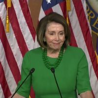 NANCY? Pelosi slurs words, mouth agape when calling wall a 'non-starter'