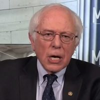 Sanders stammers when asked about when he'll release his 'very boring' tax returns