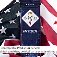 Covfefe Coffee Banned From Amazon Ads For American Flag