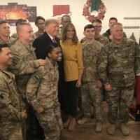 President Trump and First Lady Melania Make Post-Christmas Visit to Troops in Iraq