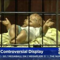 Church Puts Baby Jesus in Cage For 'Immigration Themed' Nativity Scene