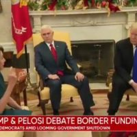President Trump Trolls Pelosi After House Passes Spending Bill With Border Wall Funding