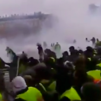 VIDEO: French Protestors Clash With Police After Macron Eliminates Fuel Tax