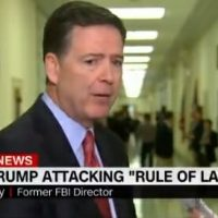 "James Comey Trashes FOX News after Closed-Door Hearing, ""Someone Has Got to Stand Up in the Face of Fear of FOX News"" (VIDEO)"
