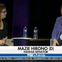Senator Mazie Hirono: Democrats Have a Hard Time Connecting with Voters Because They're' So Smart' (VIDEO)