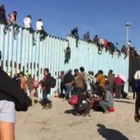 Amazing how local media keep doing their job over the wall, the caravan, and the border, wrecking the Democrat 'narrative'