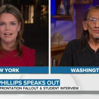 Today Show Either Doesn't Do Their Homework or Intentionally Ran Cover for Fraud Nathan Phillips