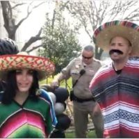 BREAKING: Laura Loomer Storms CA Governor's Mansion Wall in Sombrero and Poncho – Is Quickly Arrested (VIDEO)