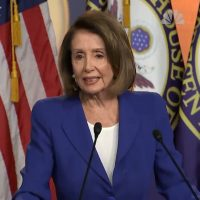 VIDEO: Pelosi struggles to speak during short remarks — script prompts to hold up American flag