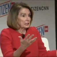 BUS-TED: Pelosi recycles story about hotel wait staff offering zinger advice against Trump