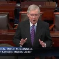 McConnell Defends Covington Kids, Shames Lying Media From Senate Floor (VIDEO)