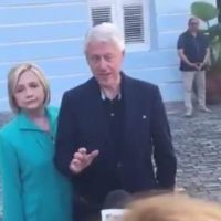 HAITI 2.0-> Clintons Travel to Puerto Rico to 'Assist' with Hurricane Recovery Efforts – Accuse Trump of Blocking Funds (VIDEO)