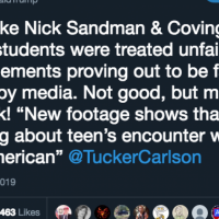 President Trump Comes Out In Support for Covington Kids After Hate Hoax