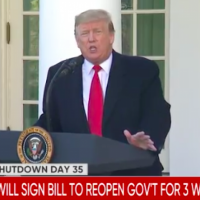 BREAKING: Government Will Reopen, Still No Wall Funding