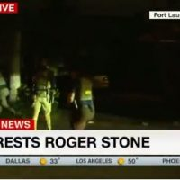 Raw Video Shows CNN Colluded With FBI to Film Roger Stone SWAT-Style Raid and Arrest