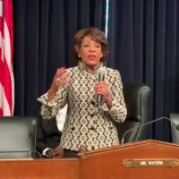 MAD MAXINE WATERS: Going to 'spend some of my time' subpoenaing Trump