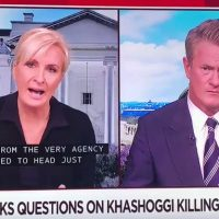 MSNBC Mika tells US enemies: Now's the 'moment to act'!