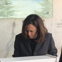 Kamala Harris: 'Goodbye Columbus' (Day)