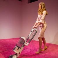 DC art display 'Ivanka Vacuuming' makes President's daughter clean up crumbs thrown by viewers