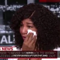 Oh Please. Woman Alleging Trump Kissed Her Without Consent Cries on MSNBC 'I Was Afraid' (VIDEO)